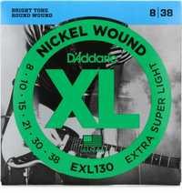 130 For D'Addario Nickel Wound Electric Guitar Strings Set Regular Light Gauge