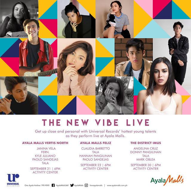 Universal Records New Breed To Perform Several Shows At Ayala Malls