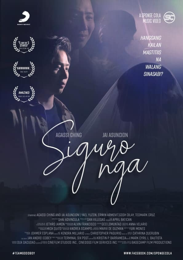 "YouTube Sensations Agassi Ching And Jai Asuncion Star In Sponge Cola's ""Siguro Nga"" Music Video"