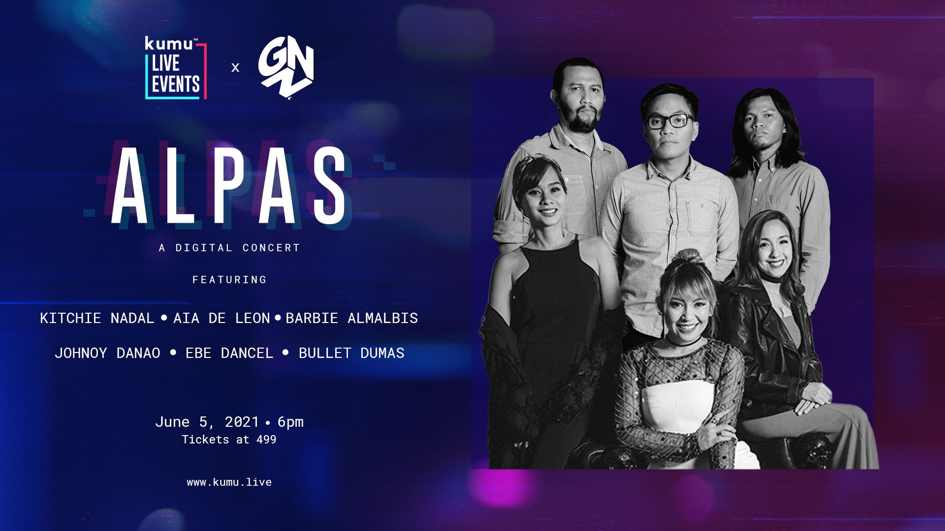 Iconic Filipino Singer-Songwriters To Take The Virtual Stage For 'ALPAS' Concert