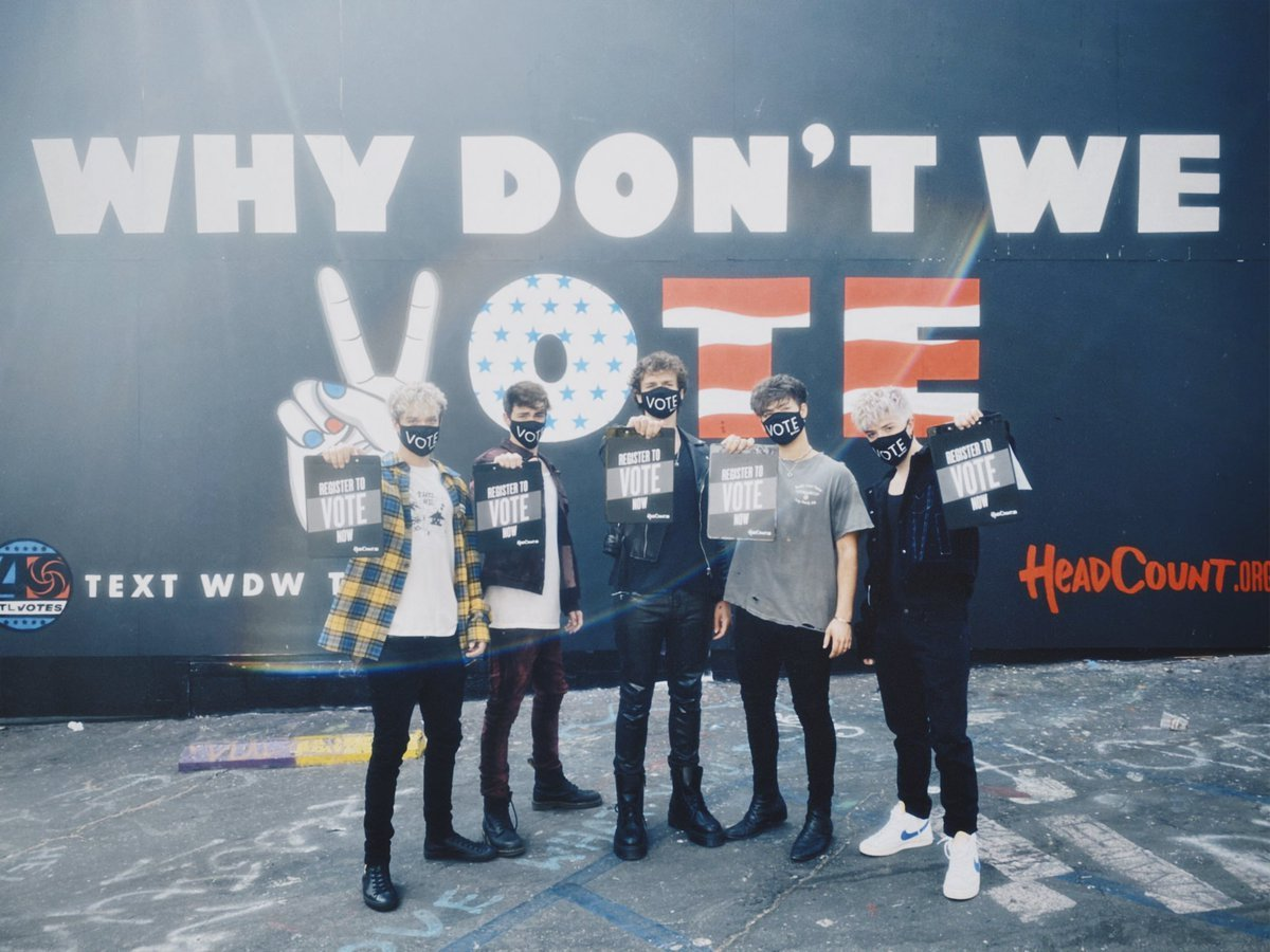 THE RETURN OF WHY DON'T WE