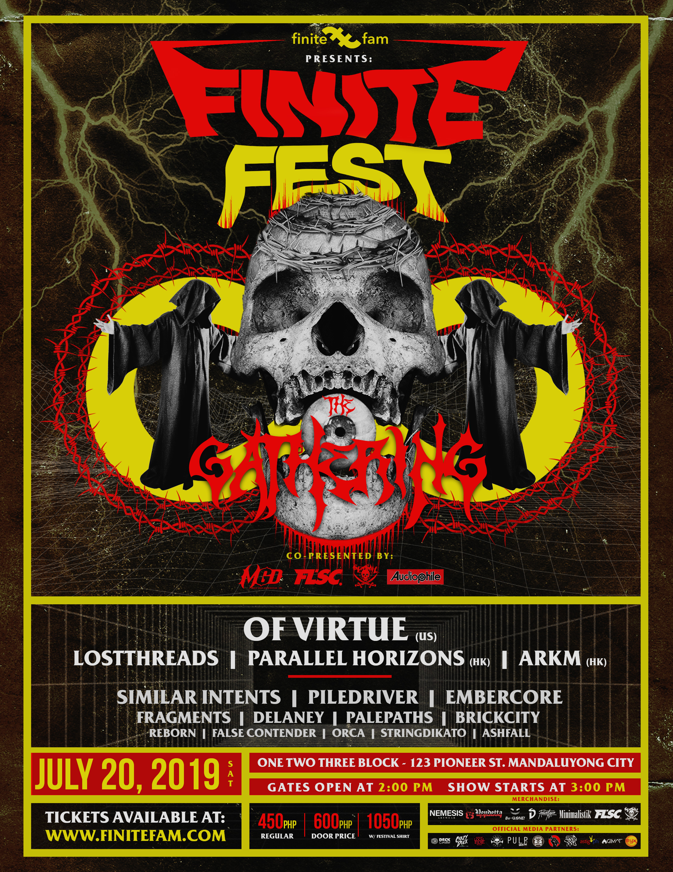 GATHER UP AS LOCAL AND INTERNATIONAL ACTS ASSEMBLE FOR FINITE FEST 2019