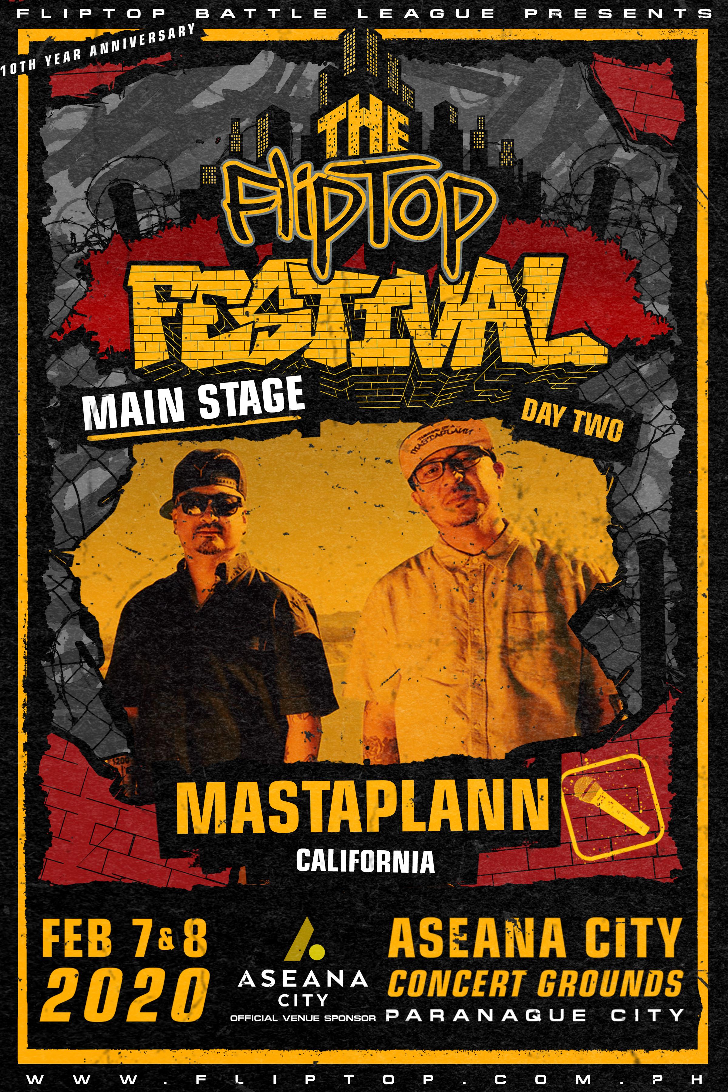 The FlipTop Festival announces second wave lineup, plus more surprises!