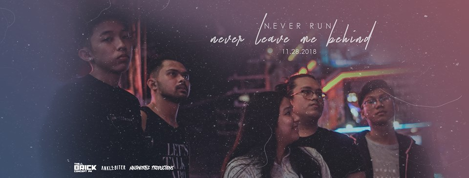 """Never Run's New Single – """"Never Leave Me Behind"""""""