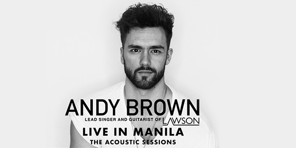 Andy Brown Live in Manila The Acoustic Sessions