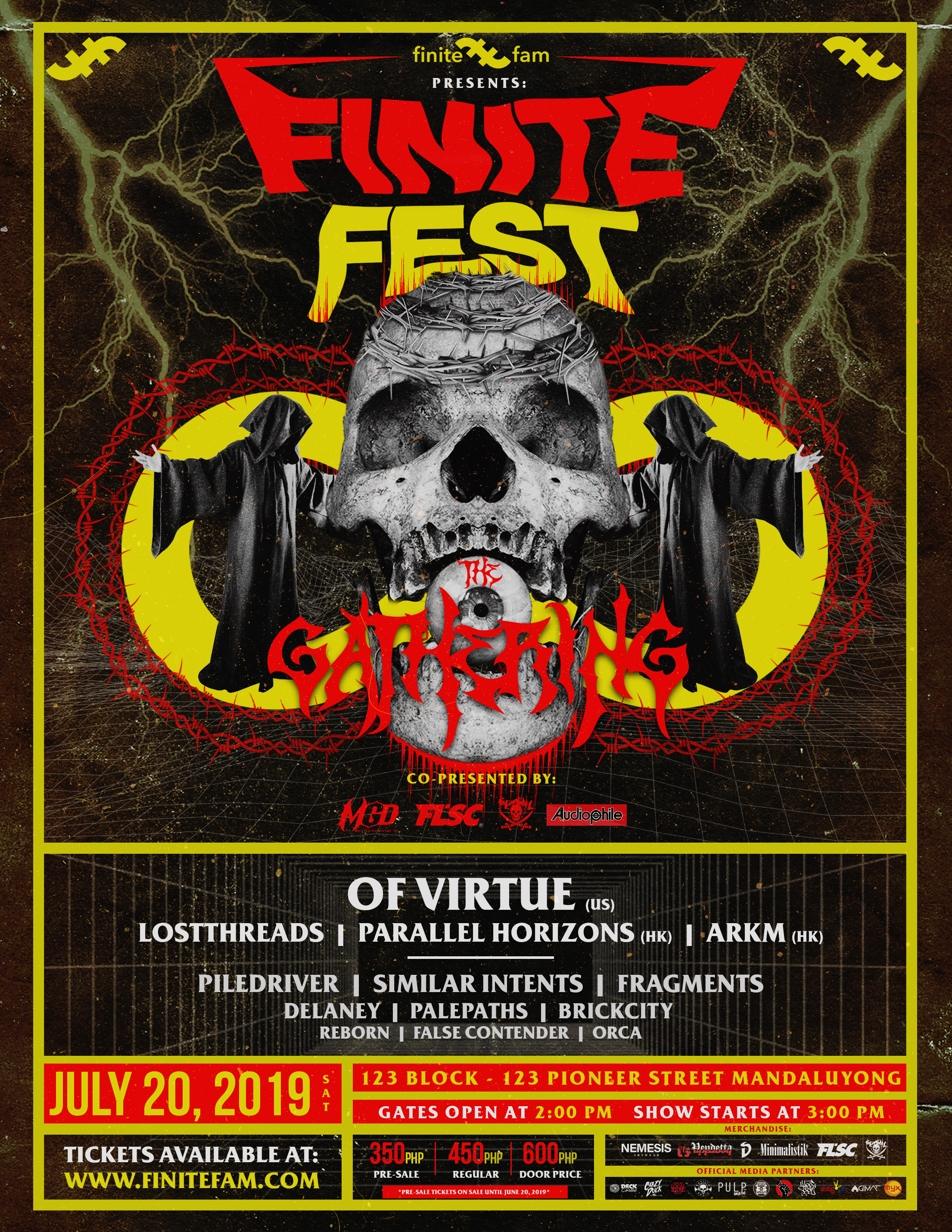 Finite Fam Gather The Finest Local & International Underground Acts For Finite Fest 2019: The Gathering