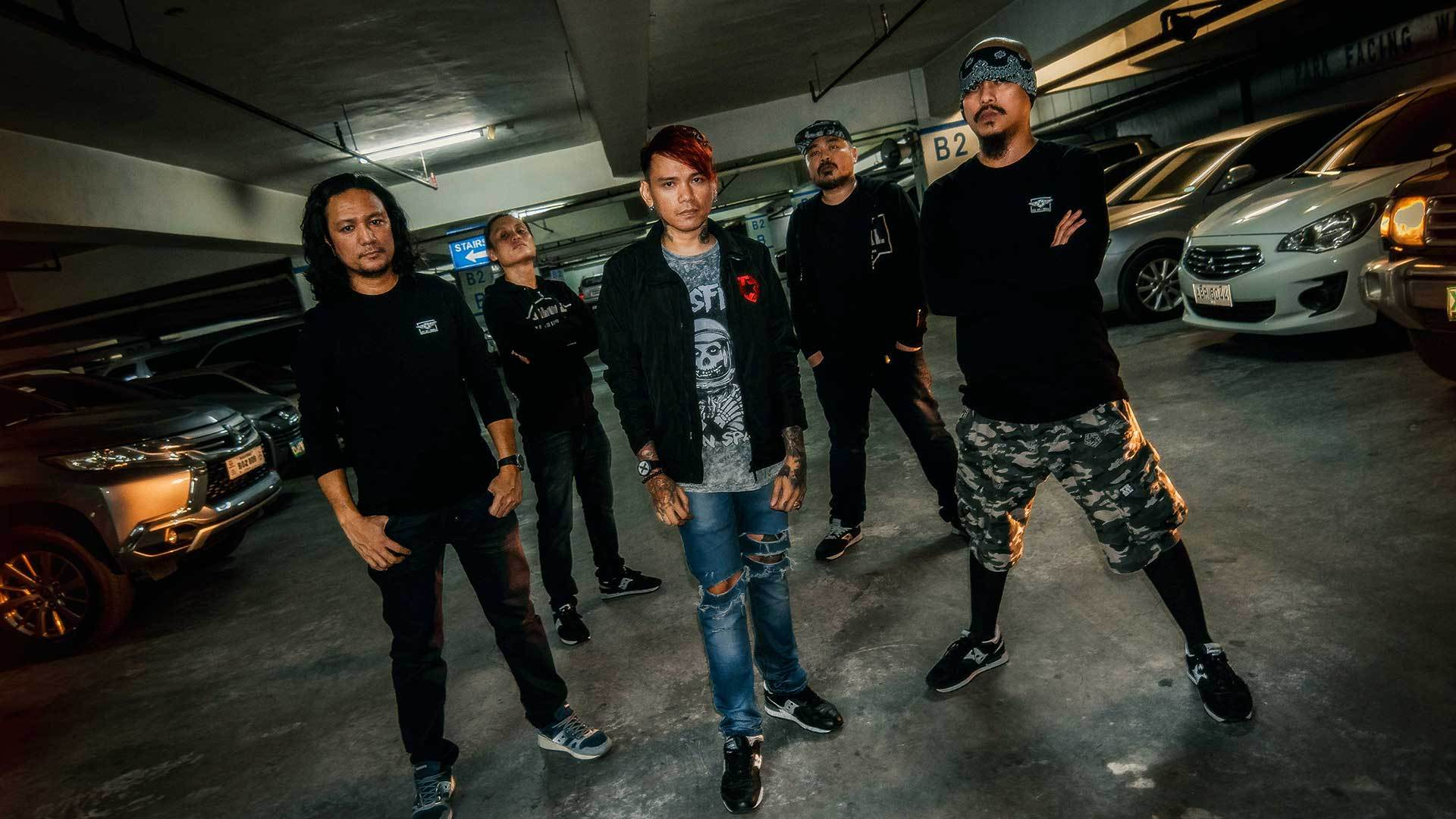Valley Of Chrome - First Filipino Band To Play At Hammersonic Festival