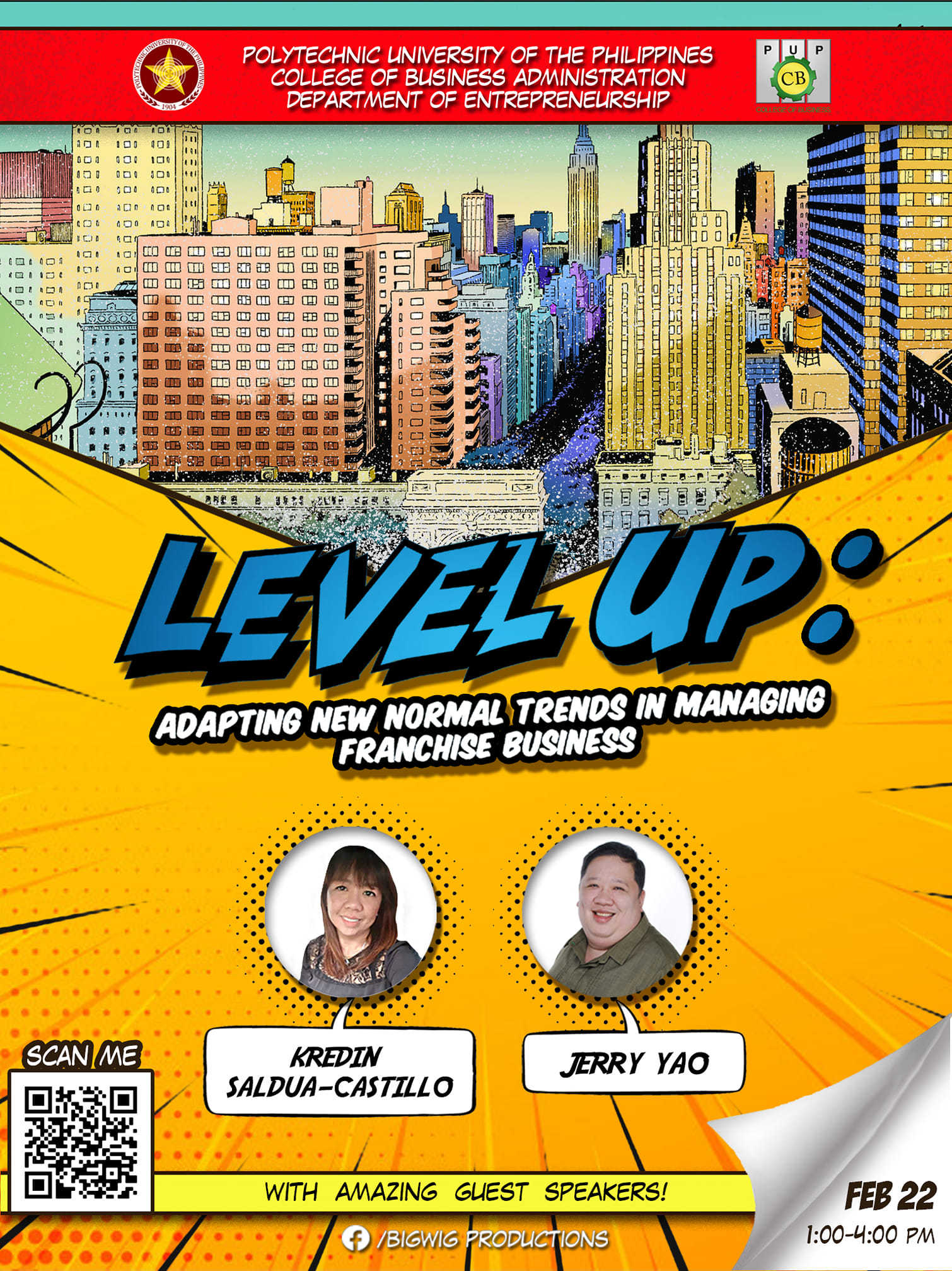 """BigWig Productions Presents """"Level Up: Adapting New Normal Trends In Managing A Franchise Business"""""""