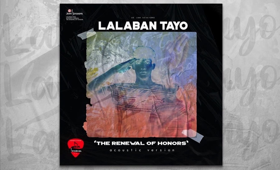 "Gloc-9 teams up with UE Jam Sessions for the acoustic version of ""Lalaban Tayo (The Renewal of Honors)"""