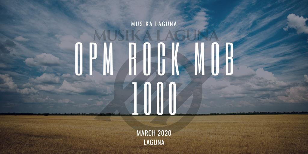 Musika Laguna OPM Rock Mob 2020