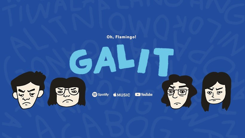'Oh, Flamingo!' Releases Official MV of their Single 'Galit', Allows Everyone To Dance Their Raging Anger to the Fullest