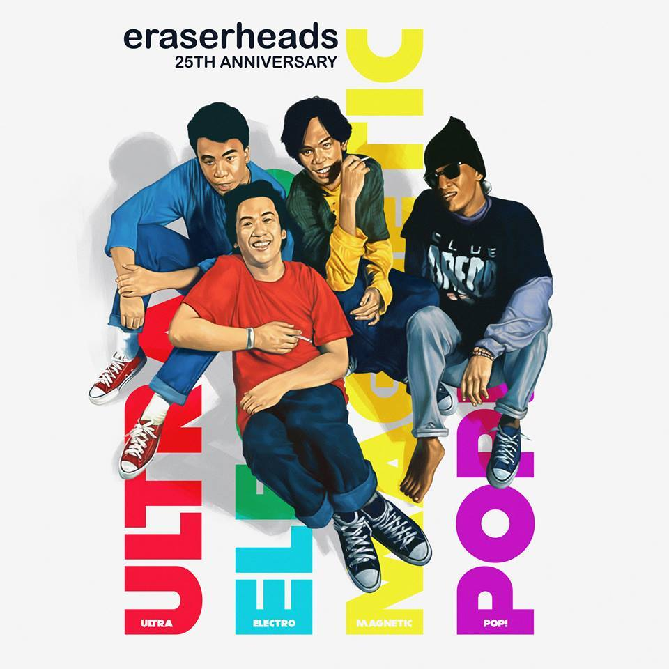 "Eraserheads With Their Remastered Edition Of ""Ultraelectromagneticpop!"" - Out Now!"
