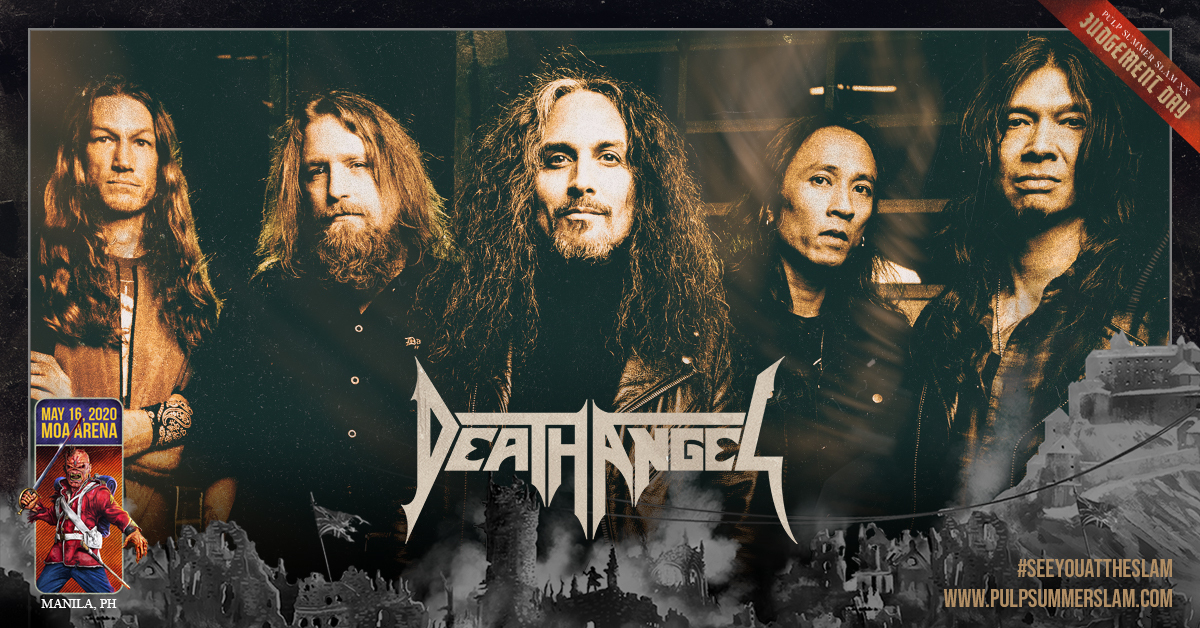 DEATH ANGEL AT PULP SUMMER SLAM XX: JUDGEMENT DAY TO BE A FULL-CIRCLE MOMENT