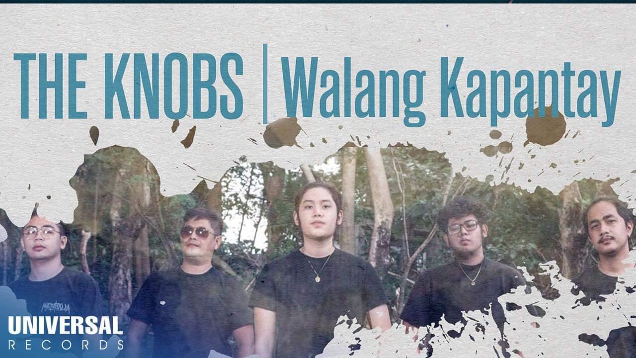 """The Knobs Serenades With Their Latest Single """"Walang Kapantay"""""""