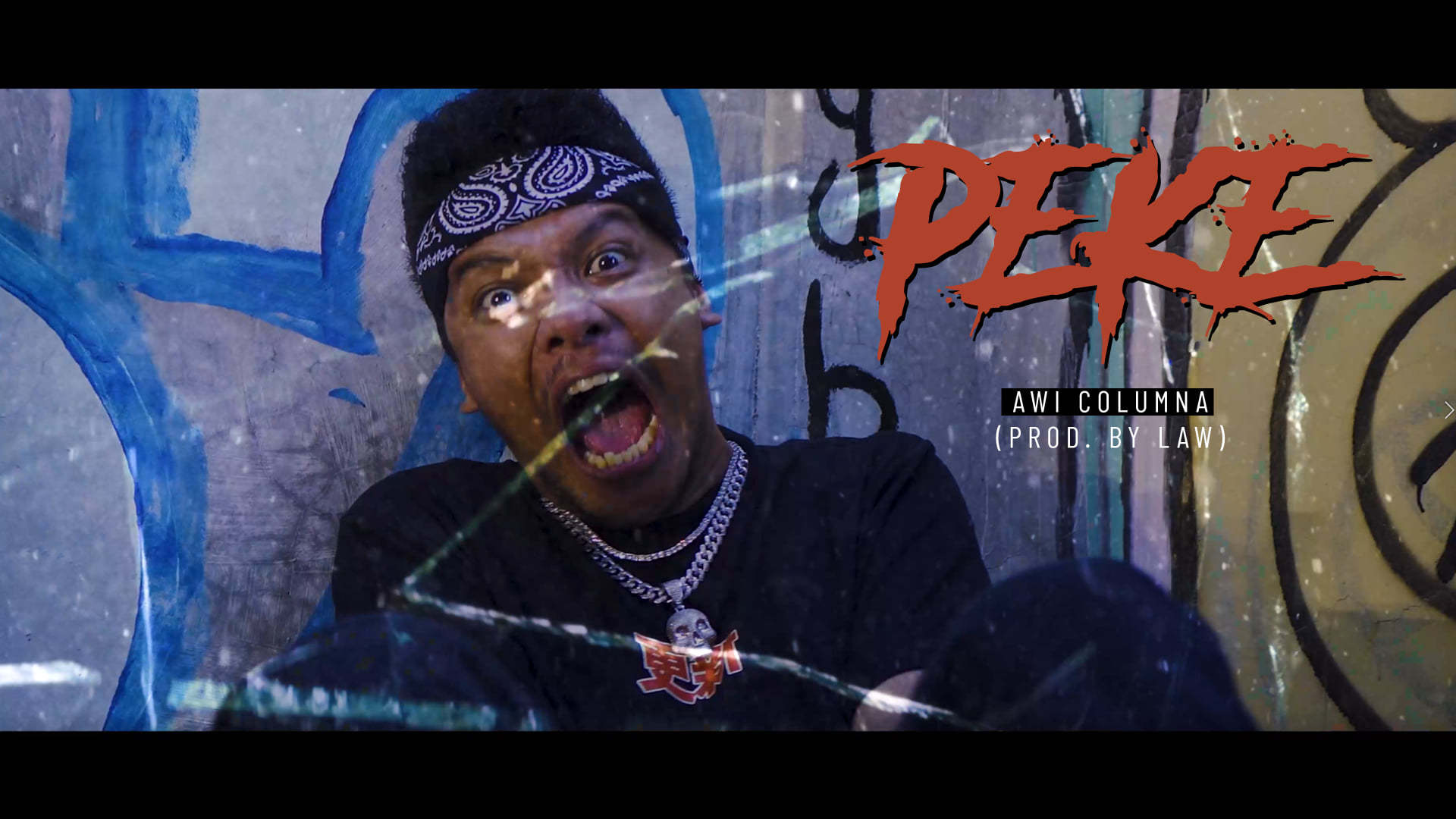 """COLN Band's Vocals, Awi Columna, releases an Official MV of his single entitled """"PEKE"""""""