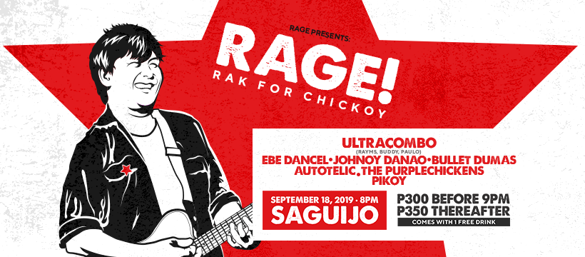 RAGE! Pays tribute, raises funds for Chickoy Pura