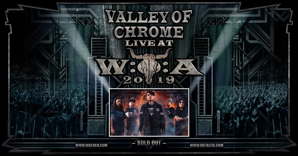 VALLEY OF CHROME TO PERFORM AT METAL MUSIC FESTIVAL IN GERMANY